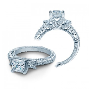 Verragio AFN-5023P White Gold Ladies Engagement Ring