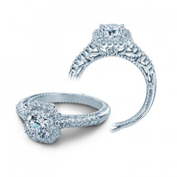Verragio AFN-5024 White Gold Ladies Venetian Engagement Ring