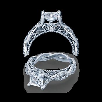 Verragio AFN-5031 White Gold Ladies Venetian Engagement Ring