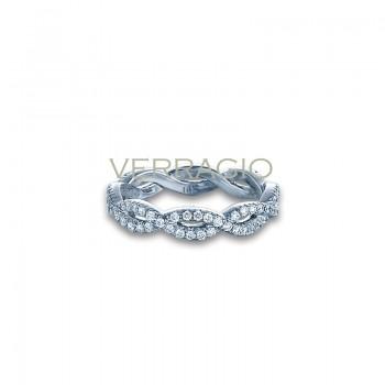 Verragio WED-4017 14k White Gold Ladies Eterna Wedding Band