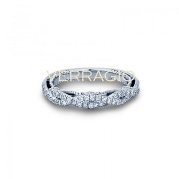 Verragio INS-7060W 14k White Gold Ladies Insignia Wedding Band