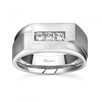 Princess Cut Diamond Wedding Band MP1768G