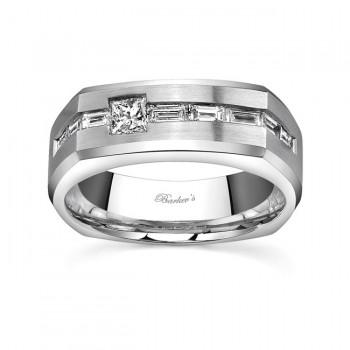 White Gold Diamond Wedding Band MP1769G