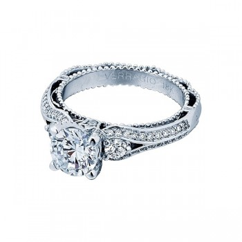 Verragio AFN-5021R White Gold Ladies Venetian Engagement Ring