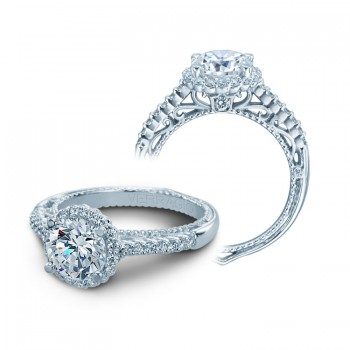 Verragio AFN-5022R White Gold Ladies Venetian Engagement Ring